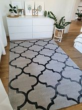 Ковер Creative Carpets - Hand Made ручной работы TRELLIS grey