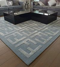 Ковер Creative Carpets - Hand Made ручной работы FENDI-3 grey